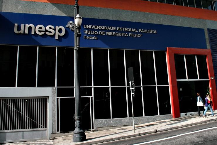 Fachada da Universidade Estadual Paulista (Unesp). Instituição está com inscrições abertas para vestibular 2020
