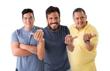 três professores do descomplica