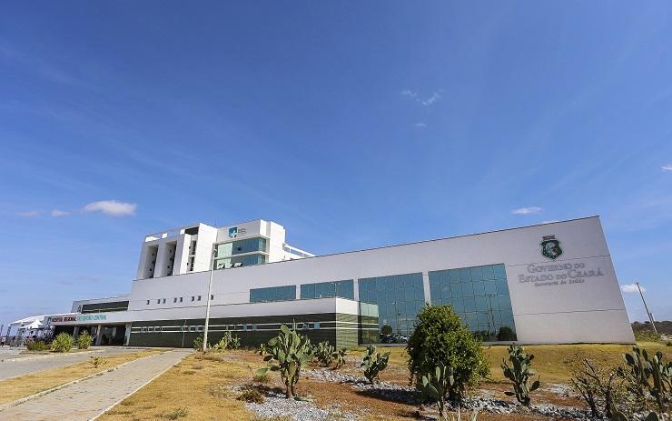 Hospital Regional do Sertão Central na cidade de Quixeramobim