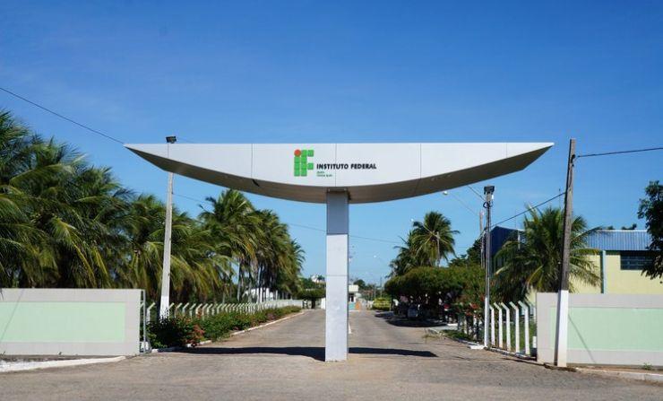Fachada do Campus IFCE Iguatu