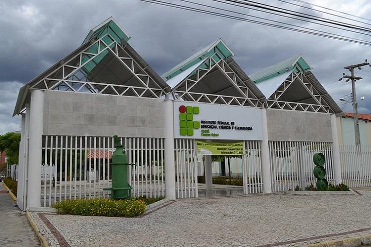 Fachada do IFCE de Sobral, onde será realizado workshop de Marketing