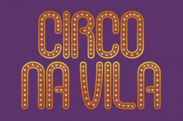 """folder do evento com o nome """"circo da vila"""""""