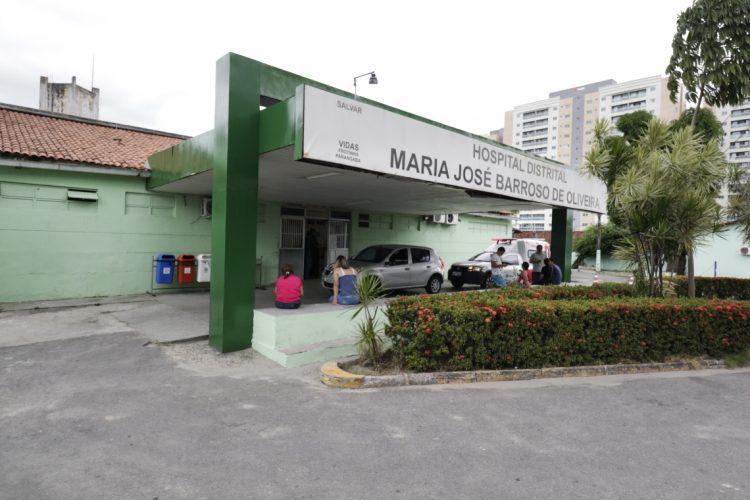 Fachada do Frotinha da Parangaba, uma das unidades onde médicos aprovados vão atuar