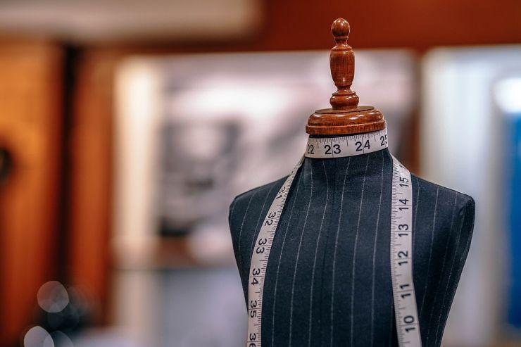 Manequim, usado para produzir peças como as que estarão em exposição pelos alunos de moda da UFC