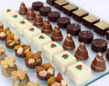 Guloseimas com base de chocolate