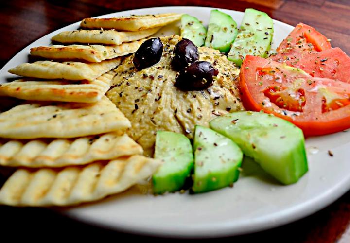 Um delicioso prato de comida vegetariana; curso de cozinha vegetariana no Senac será em 2020