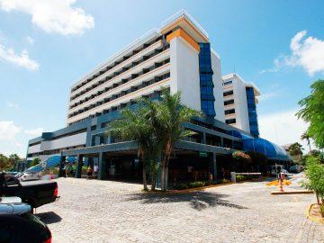 Fachada do Hospital da Unimed Fortaleza