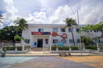 Fachada da escola Porto Iracema das Artes, onde ocorrerá o Ateliê