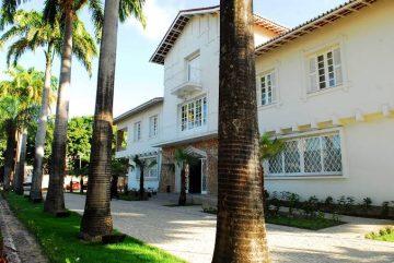 Entrada da Vila das Artes, localizada no Centro de Fortaleza