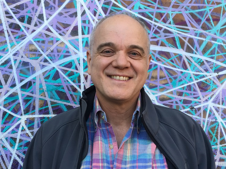 Retrato de Christian Duurvoort, um dos facilitadores das oficinas de capacitação técnica
