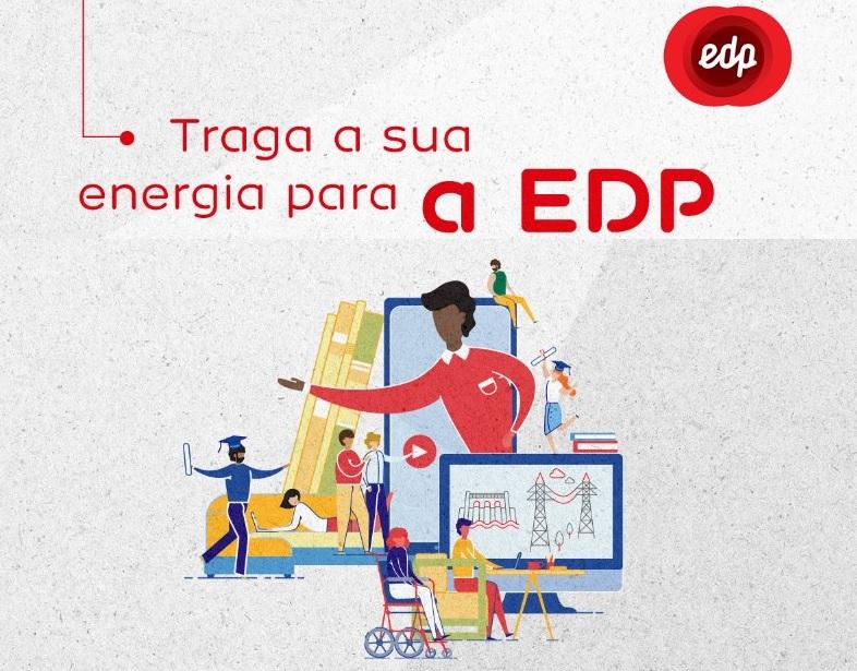 Banner de divulgação da EDP
