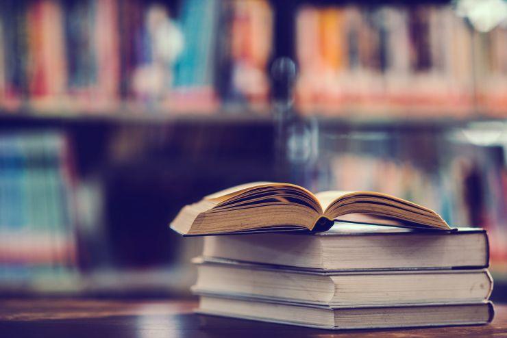 Livros em cima de uma estante; obras são inspiração para carreira