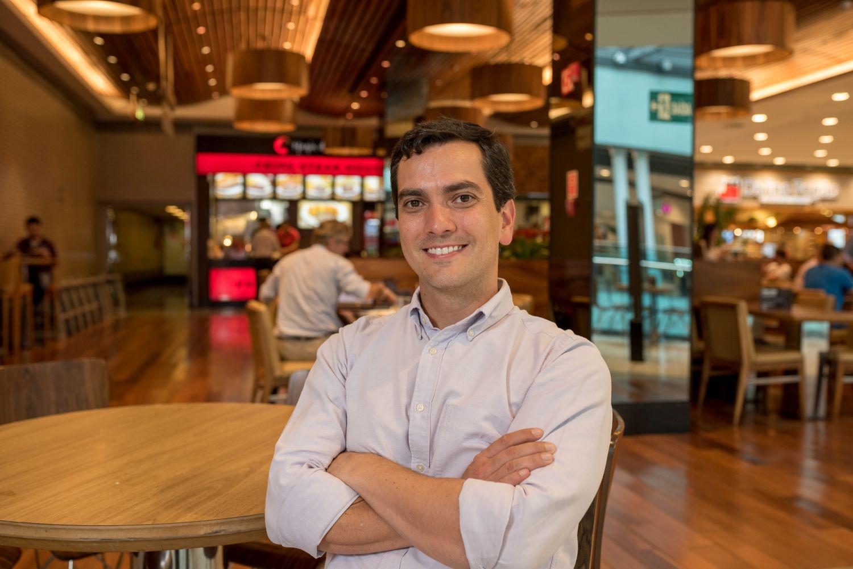 Fernando Taliberti de perfil; empresário fala da digitalização